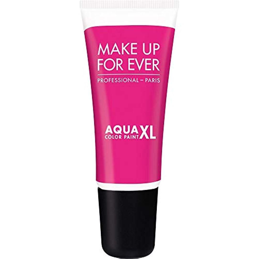 怖がらせるプラスチック賃金[MAKE UP FOR EVER] 防水アイシャドウ4.8ミリリットルのM-82 - - マットFuschia史上アクアXl色の塗料を補います - MAKE UP FOR EVER Aqua XL Color Paint - Waterproof Eyeshadow 4.8ml M-82 - Matt Fuschia [並行輸入品]