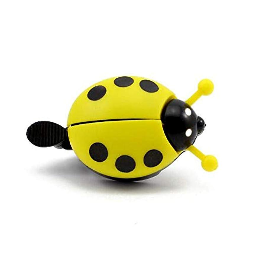 現代のバルコニーアルミ合金てんとう虫バイクベル (Color : Yellow)