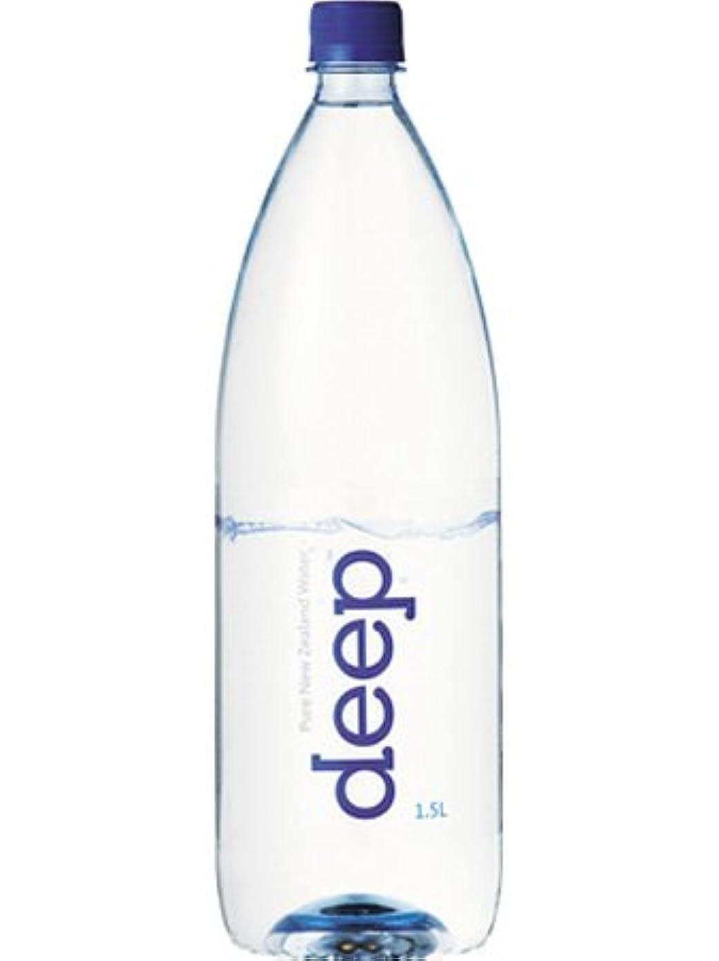 地下鉄シアーパターン高濃度天然シリカの超軟水 deep(ディープ) 1.5L×12本