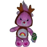 New Care Bears ~ Holiday Friends Cheer Bear with Reindeer Antlers 8 Plush [並行輸入品]