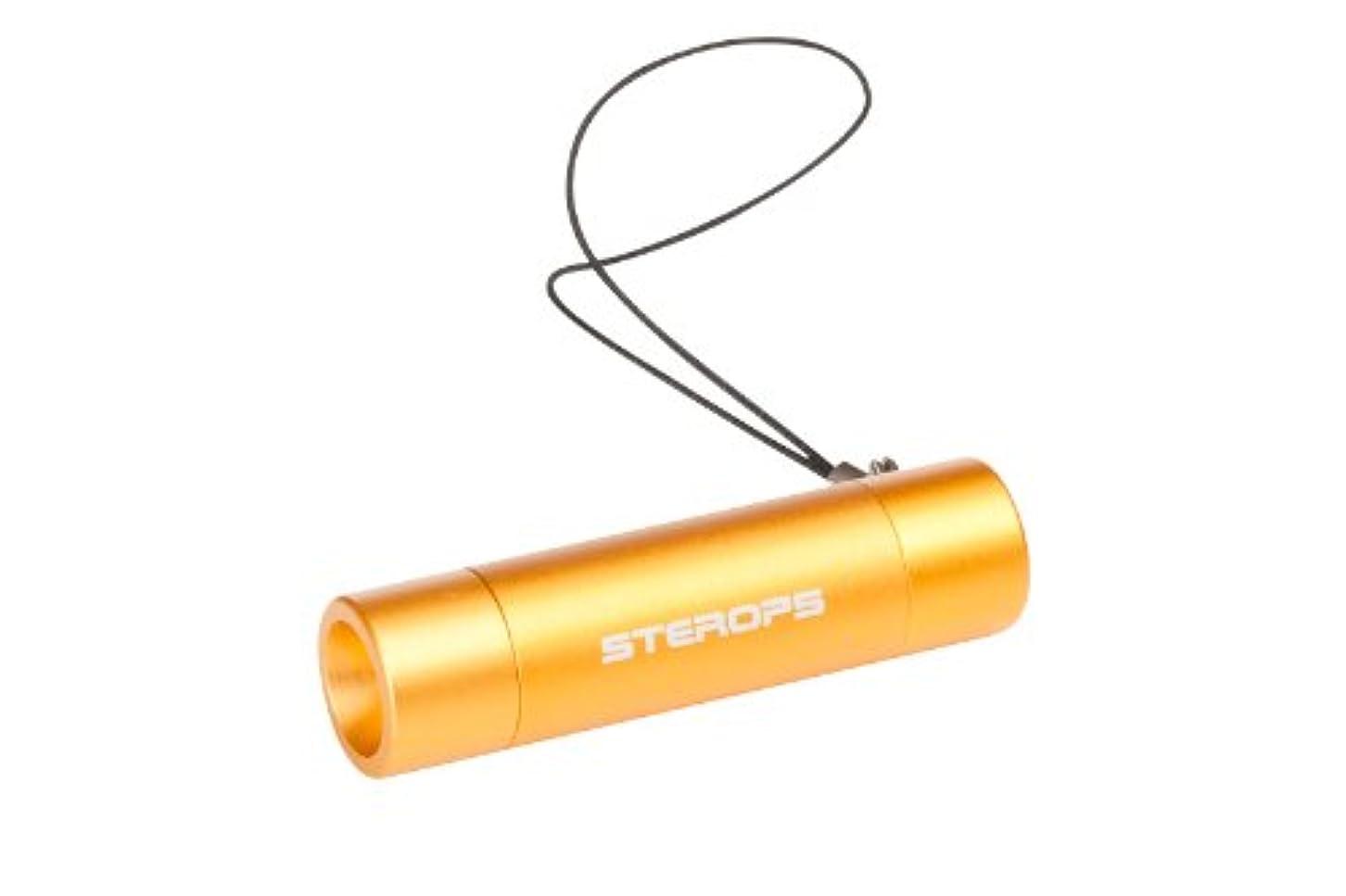 輸血ところで確保するSTEROPS(ステロプス) LEDキーチェーンライト K71 オレンジ 【5ルーメン】 SKC-9C