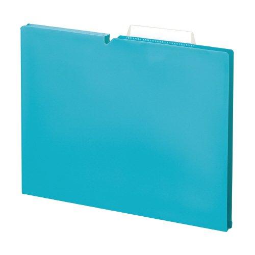 RoomClip商品情報 - 個別フォルダ<NEOS>(PP製)A4 15mm ターコイズブルー 品番:A4P-NEF15B 注文番号:64274164 メーカー:コクヨ