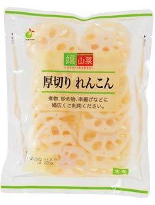 ヤマサン食品工業 嬉山菜厚切りれんこん 200gX10袋