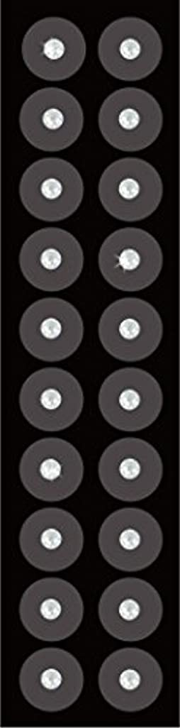 その他これまで複合Kraft Heart 耳つぼ ジュエリー 【 チタン粒 (20粒) SS12 クリスタル 】 正規スワロフスキー 【 日本製/耳つぼ解説書付(耳つぼカウンセラー監修)】 手軽につぼ療法