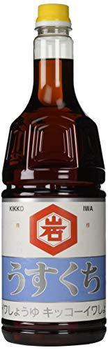 キッコーイワ醤油 うすくち醤油 1.8L