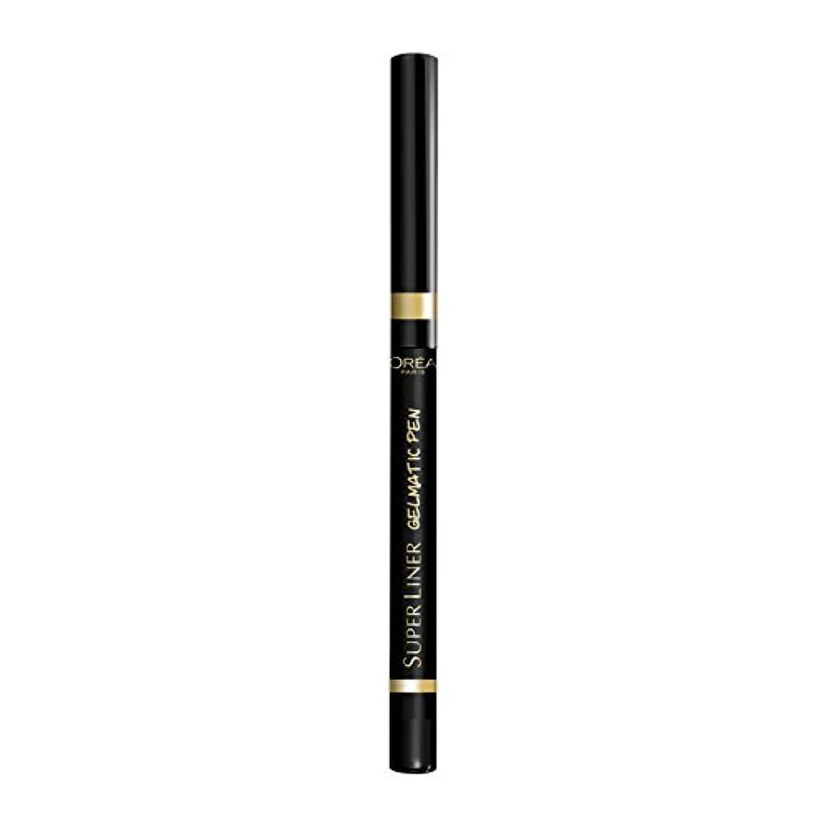けん引デッキ環境ロレアル パリ アイライナー スーパーライナー ジェルマティックペン 01 ブラックアイコニック ウォータープルーフ