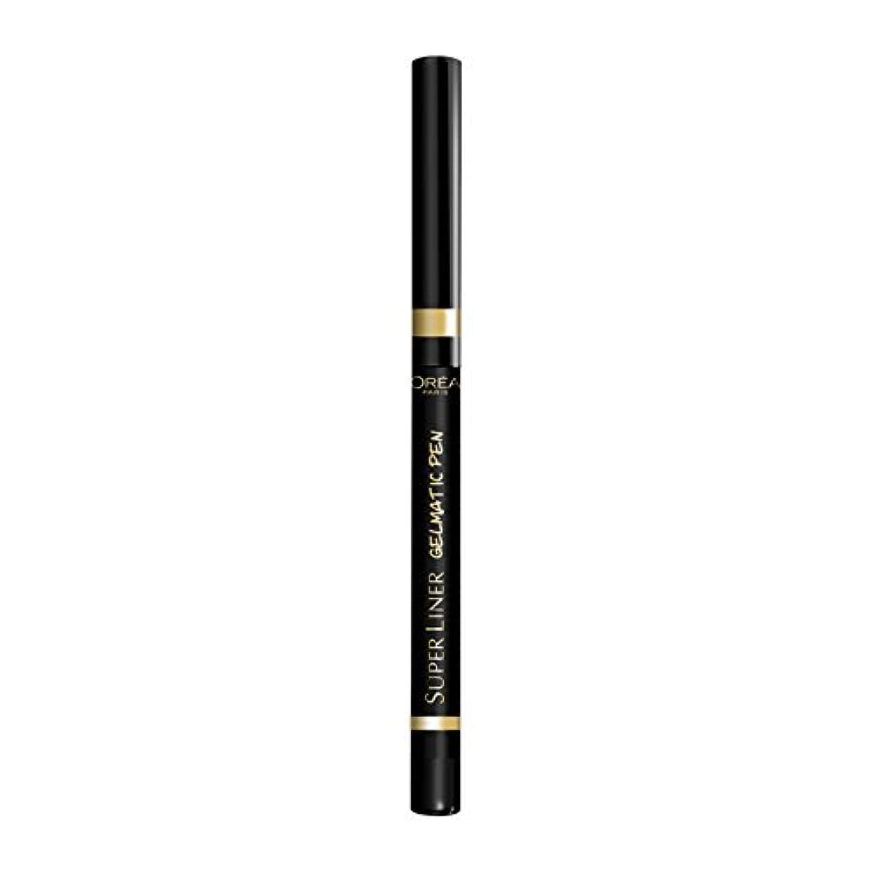 ロレアル パリ アイライナー スーパーライナー ジェルマティックペン 01 ブラックアイコニック ウォータープルーフ