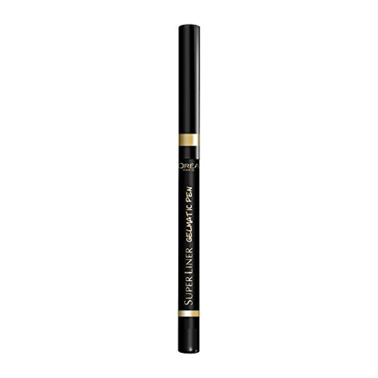 クレデンシャル大胆聞くロレアル パリ アイライナー スーパーライナー ジェルマティックペン 01 ブラックアイコニック ウォータープルーフ