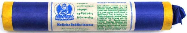 勤勉な不純約束するTibetan Incense Stick Medicine Buddha