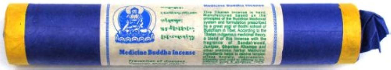 人工絞る帝国主義Tibetan Incense Stick Medicine Buddha