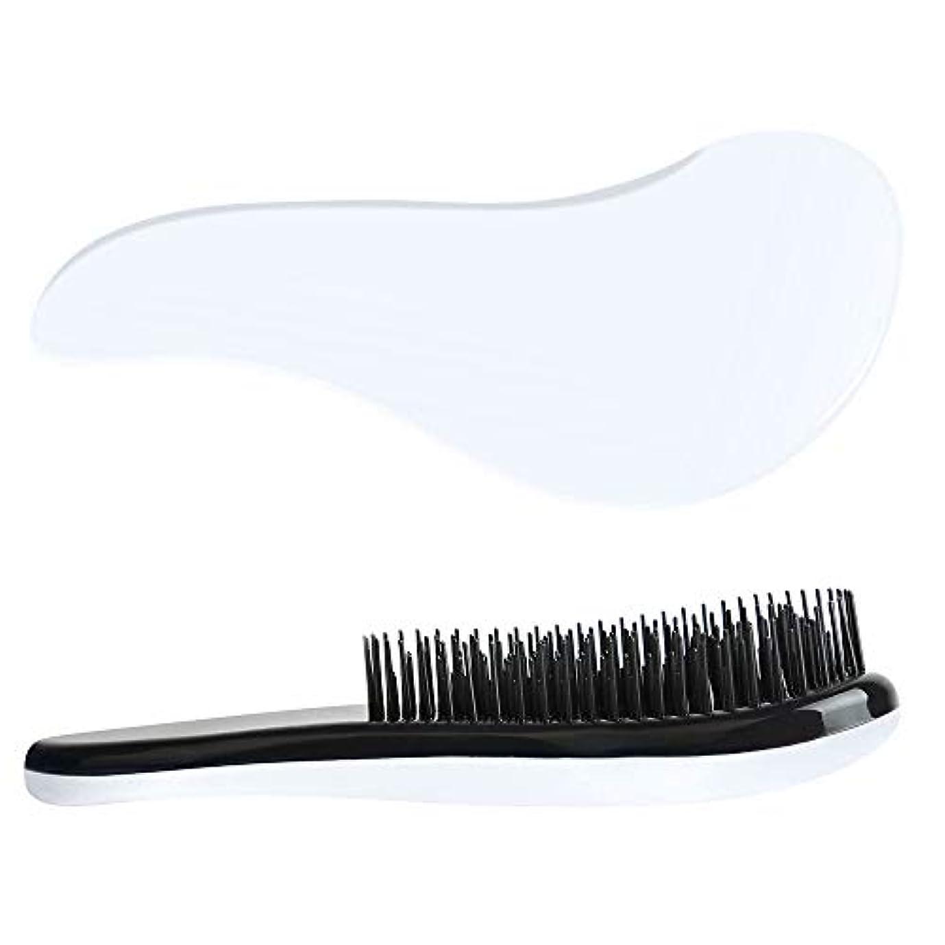 襲撃ミット助手大人のプラスチック毛の櫛の小さい毛のまっすぐな毛の櫛の毛の櫛かブラシ、 ヘアケア (Color : 6)