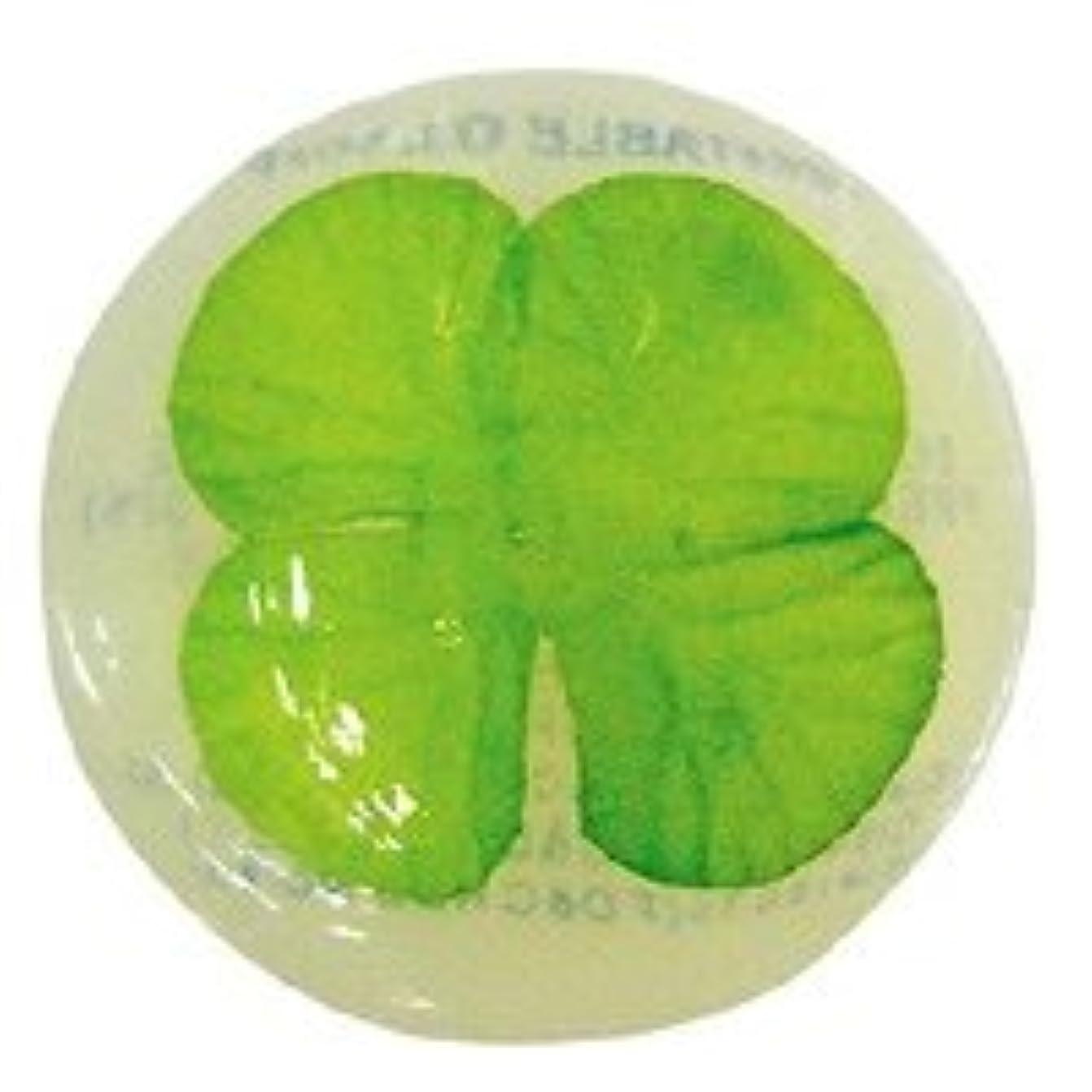 抜本的な預言者雇用ベジタブルソープ ハッピーリーフ「クローバー」20個セット フローラルブーケの香り