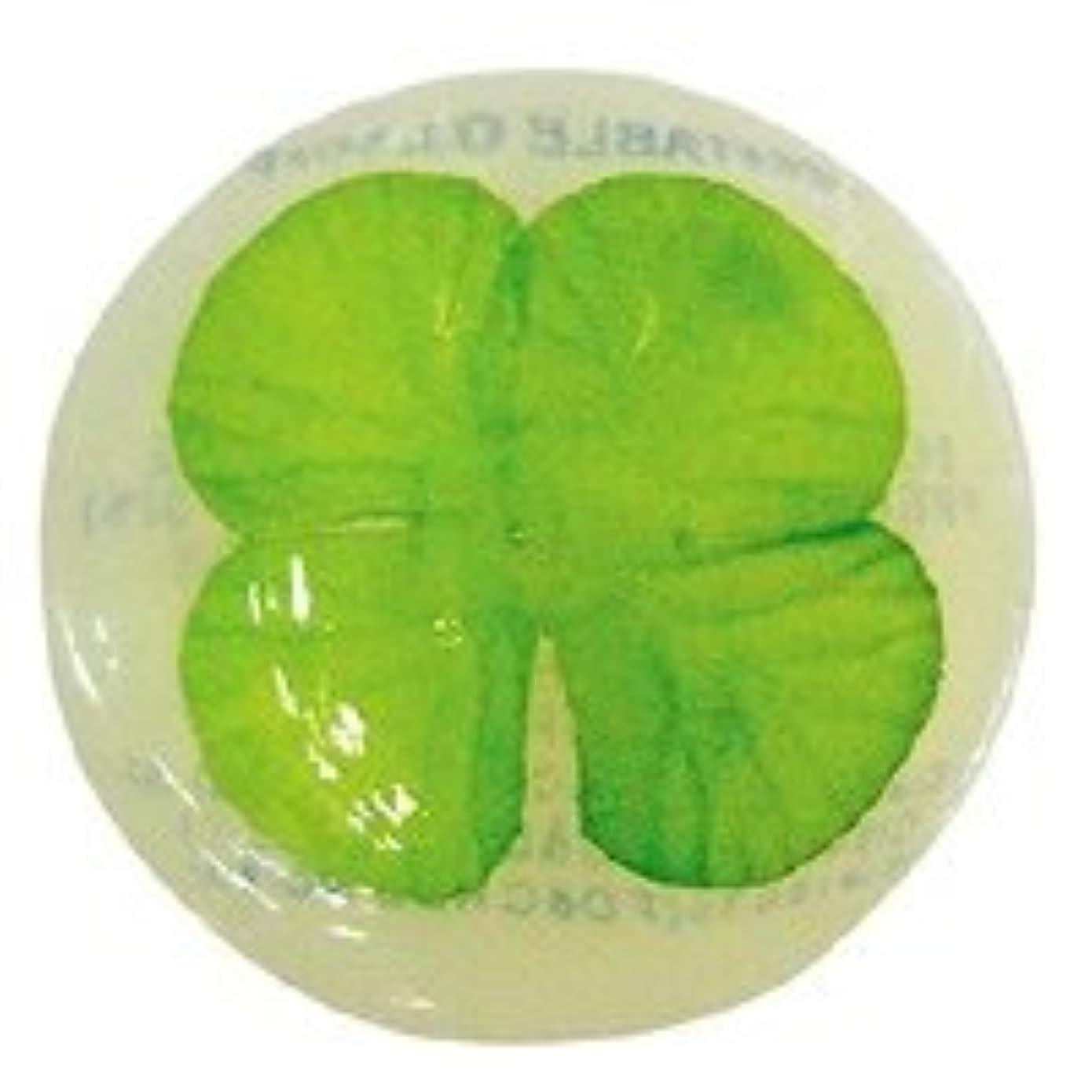 扇動パラダイス頼るベジタブルソープ ハッピーリーフ「クローバー」20個セット フローラルブーケの香り