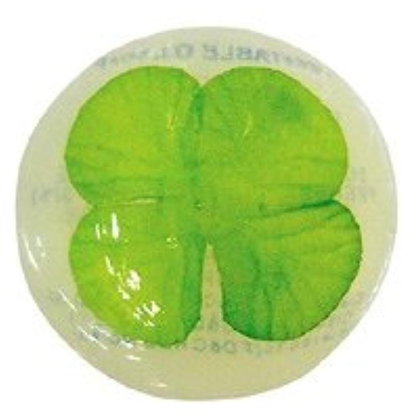 無効にする過半数植物学ベジタブルソープ ハッピーリーフ「クローバー」20個セット フローラルブーケの香り