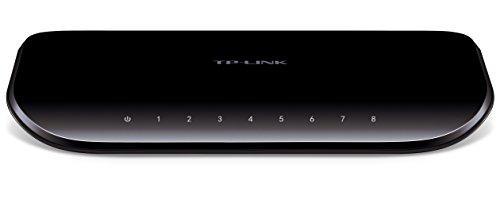 TP-LINK 8ポート ギガビット デスクトップ スイッチ TL-SG1008D 1台