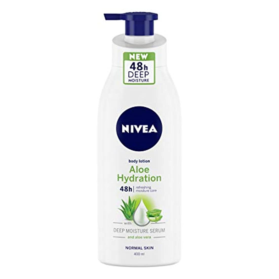 ボートマーティンルーサーキングジュニア水平NIVEA Aloe Hydration Body Lotion, 400ml, with deep moisture serum and aloe vera for normal skin