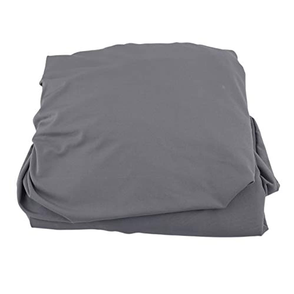 キャプテンブライ六絶滅したSaikogoods 弾性ポリエステルソファカバーピュアカラーストレッチ本のカバー柔軟な椅子Dustcoat耐久性のあるソファーカバー家具の布 グレー