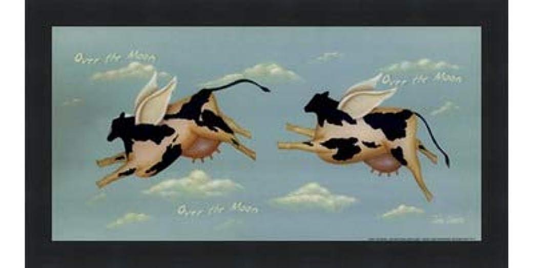介入する格差休暇Over the Moon by John Sliney – 12 x 6インチ – アートプリントポスター LE_614119-F101-12x6