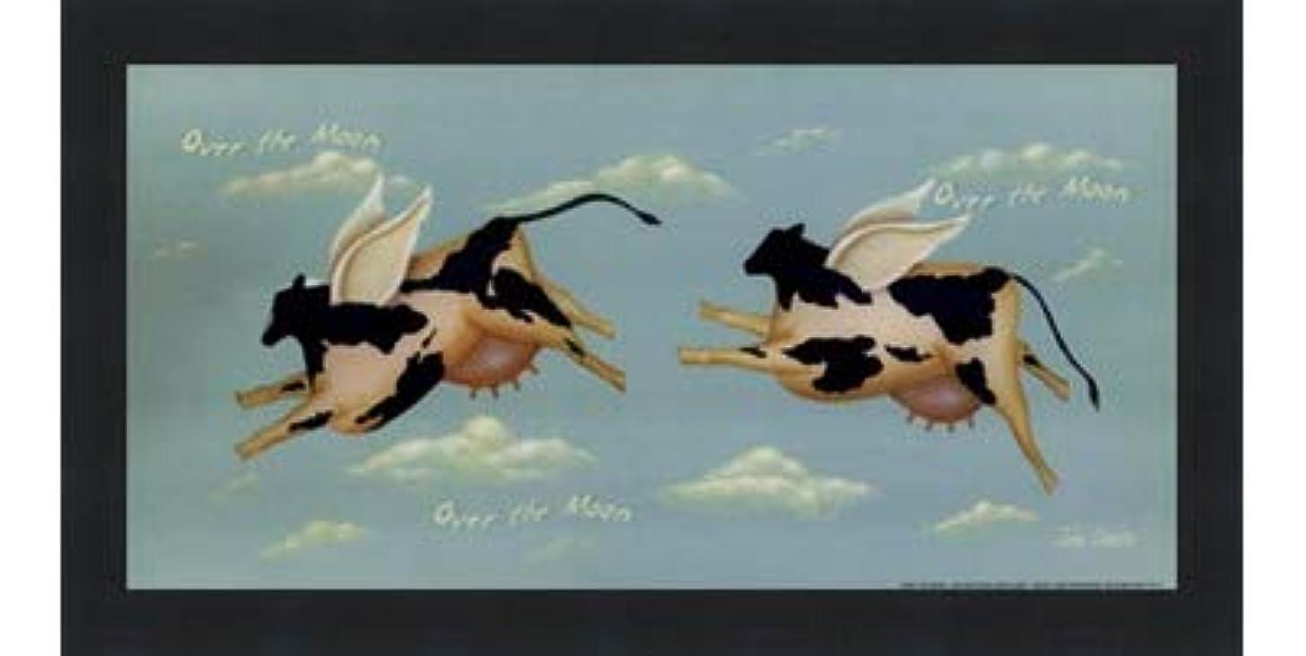 日時期尚早槍Over the Moon by John Sliney – 12 x 6インチ – アートプリントポスター LE_614119-F101-12x6