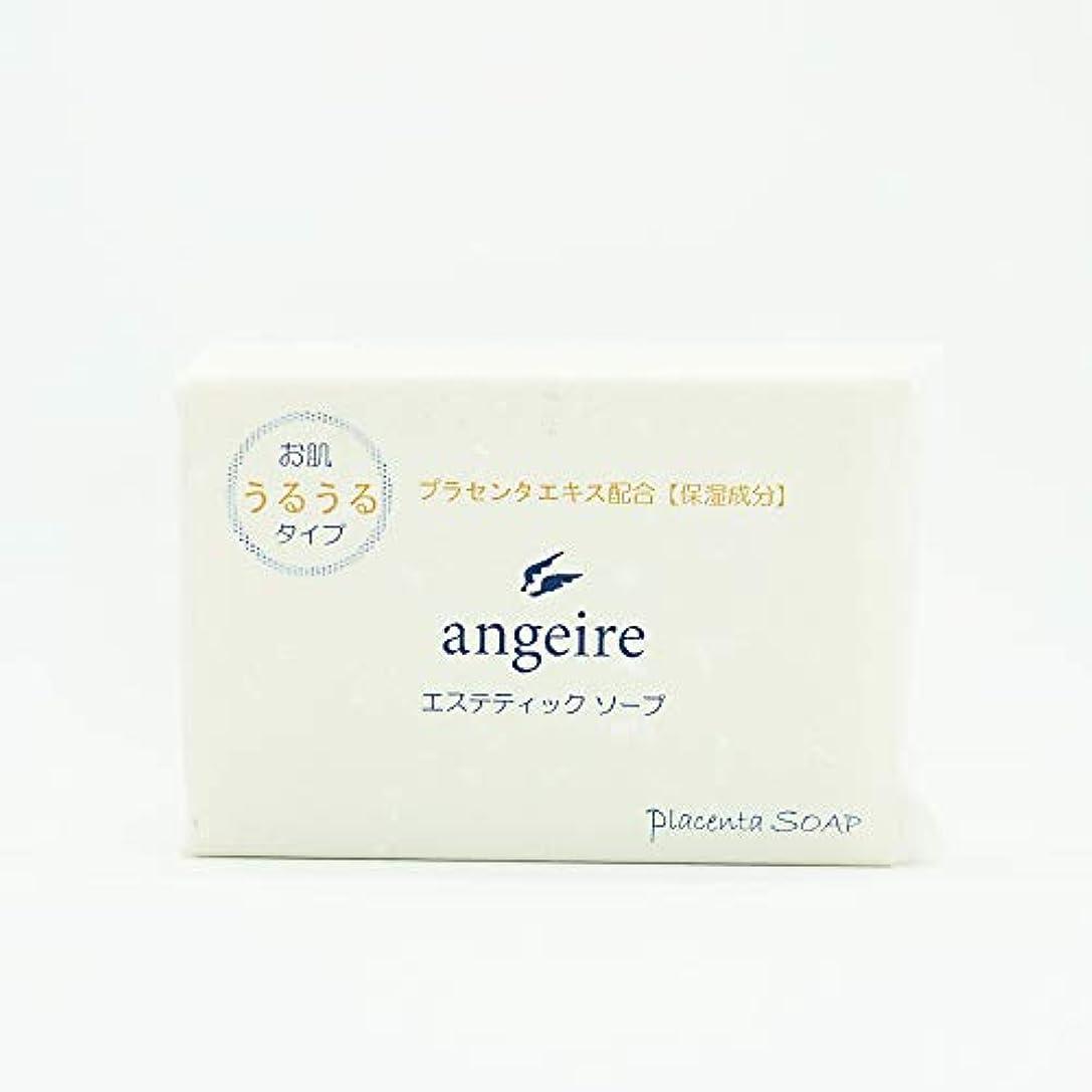 団結するミニチュアすり減るangeire エステティックソープ お肌うるうるタイプ 天然アロマの香り