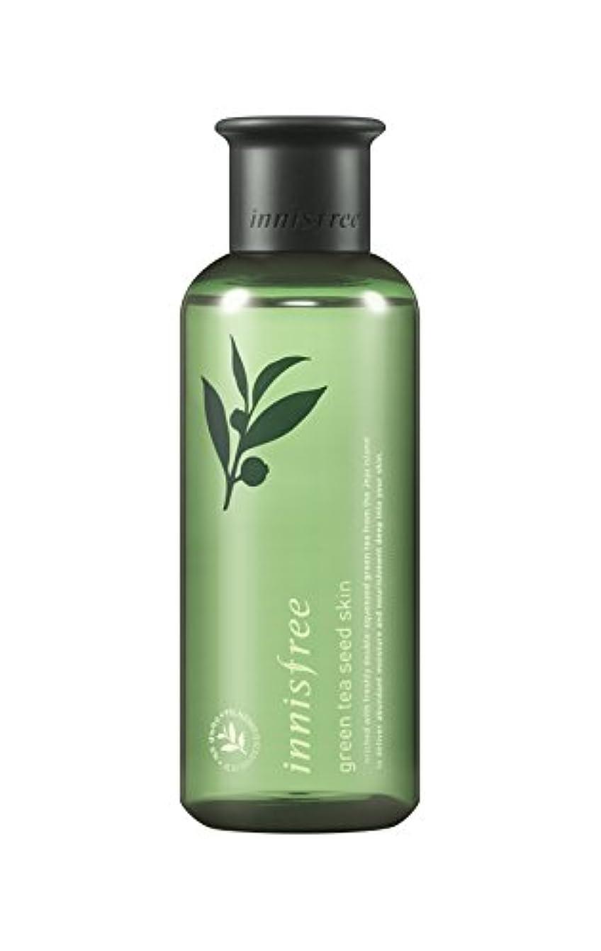 工夫する自発エネルギーイニスフリー日本公式(innisfree) グリーンティーシード スキン[化粧水]200mL