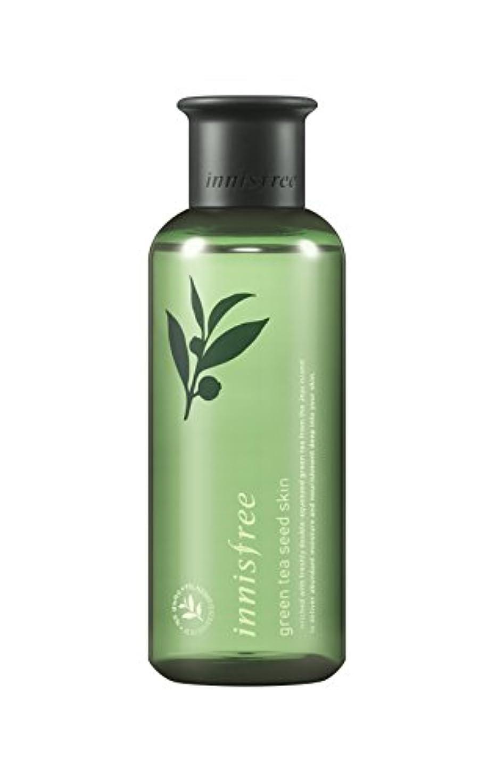 ロゴイル凝縮するイニスフリー日本公式(innisfree) グリーンティーシード スキン[化粧水]200mL