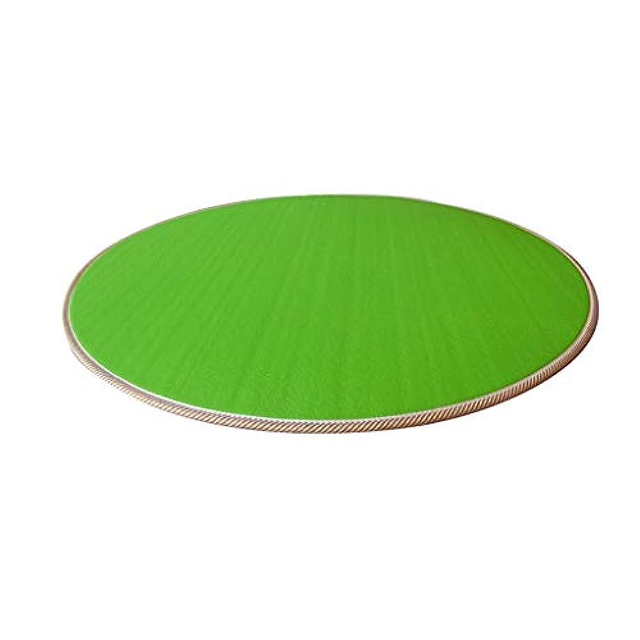 理由金貸し保全家庭用ノンスリップマット、子供用テントマット児童室は、マットベッドマットピクニックマット/グリーン、パープル/ 100を再生* 100 * 1CM (Color : Green, Size : 100*100*1CM)