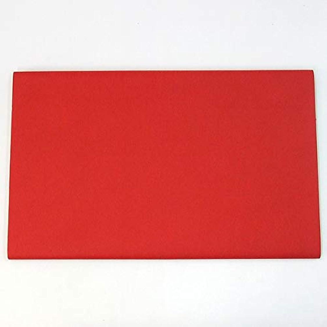 テンポ物足りない無し45×175cm 万里 染 赤 10枚 漢字用 加工紙