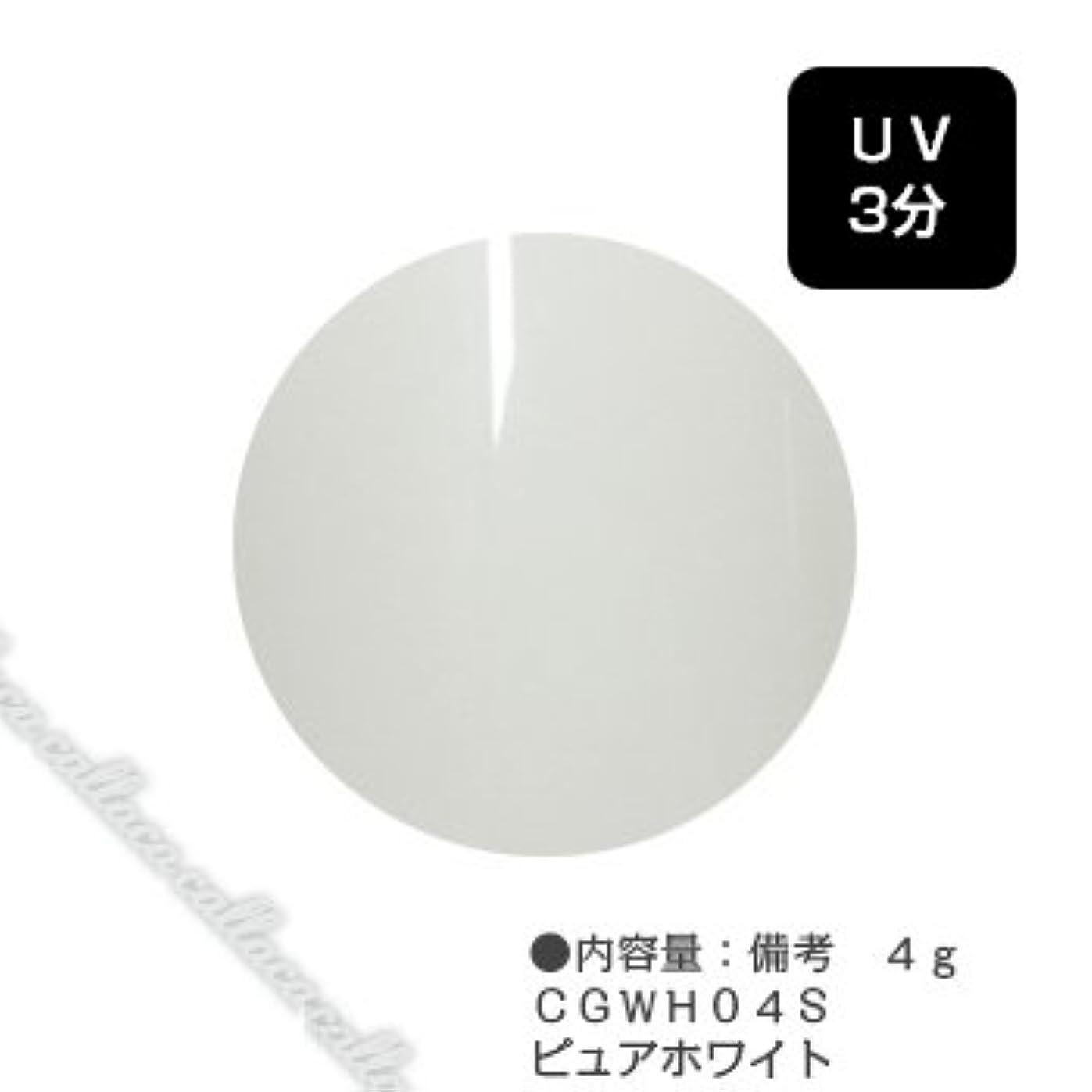 ヶ月目未知の慎重カルジェル(Calgel) カラージェル 4g  CGWH04S ピュアホワイト