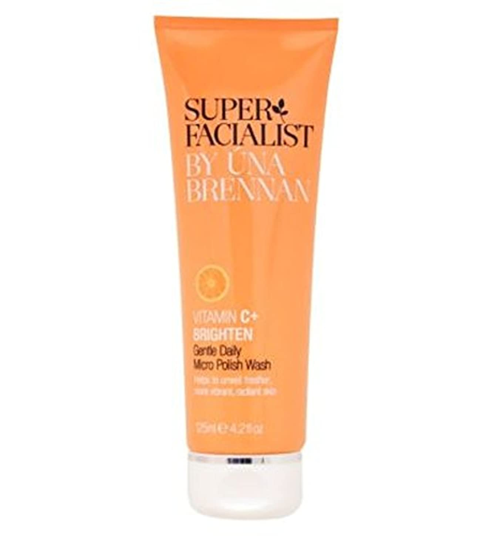 札入れ革命面積Superfacialist Vitamin C+ Gentle Daily Micro Polish Wash 125ml - SuperfacialistビタミンC +穏やかな毎日マイクロポリッシュ洗浄125ミリリットル...