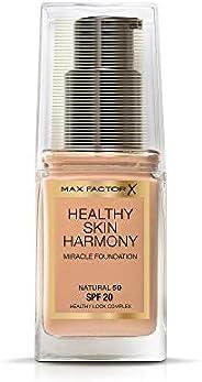 Max Factor Healthy Skin Harmony Miracle Foundation, Natural 50 30ml