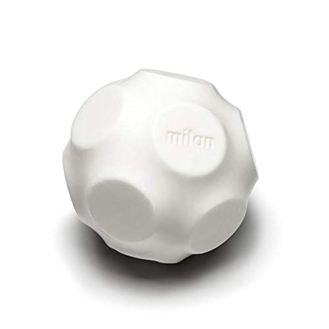 談話官僚アルコーブMaison Milan SIMONA ダイヤモンド粉 ホワイト 石鹸