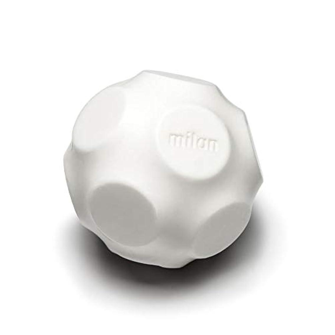 経済的流用する投げるMaison Milan SIMONA ダイヤモンド粉 ホワイト 石鹸