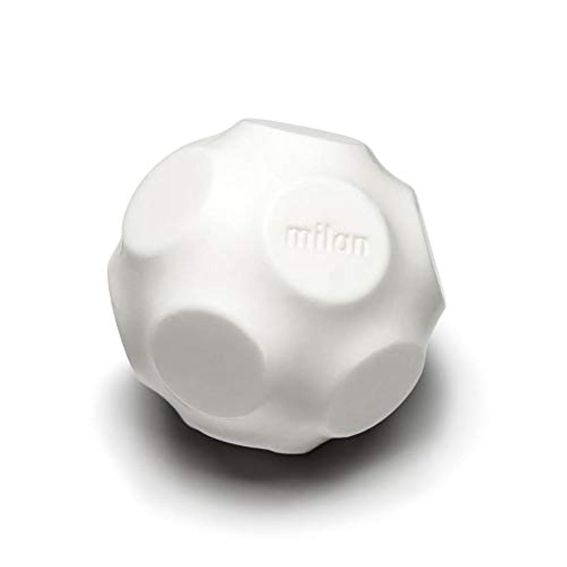 植物学者両方泥沼Maison Milan SIMONA ダイヤモンド粉 ホワイト 石鹸