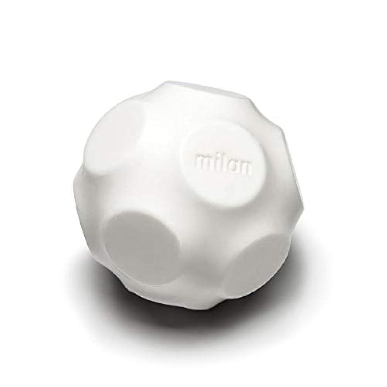 マナー議会和Maison Milan SIMONA ダイヤモンド粉 ホワイト 石鹸