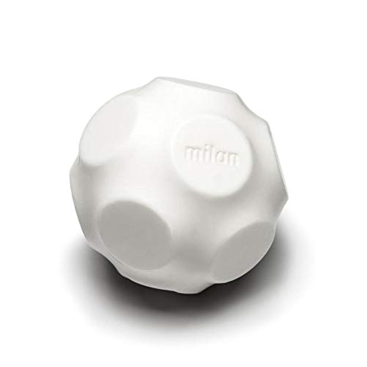 アラブ人息苦しい副Maison Milan SIMONA ダイヤモンド粉 ホワイト 石鹸