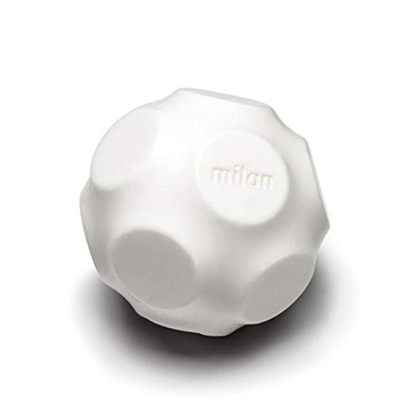連合トリップ差別Maison Milan SIMONA ダイヤモンド粉 ホワイト 石鹸