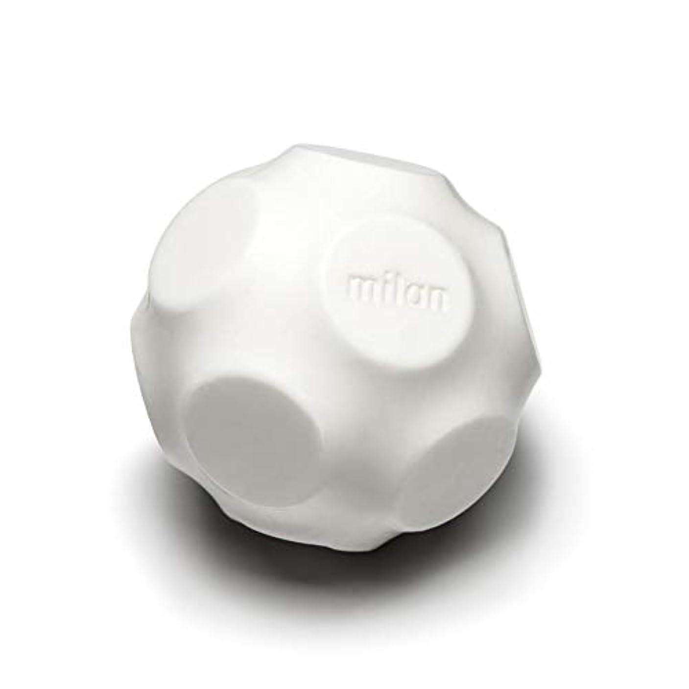 ハドル差別フルートMaison Milan SIMONA ダイヤモンド粉 ホワイト 石鹸