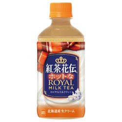 コカコーラ 【HOT用】紅茶花伝 ロイヤルミルクティー 350mlペットボトル×24本入×(2ケース)