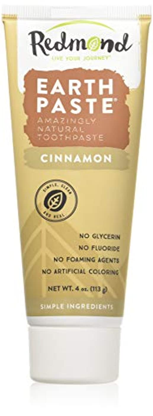 半ば同性愛者変化する海外直送品Redmond RealSalt Natural Organic Flouride Free Toothpaste Cinnamon, Cinnamon 4 OZ