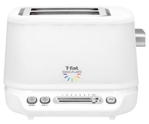 ティファール トースター 「トースト アンド ライト」 ポップアップ 7色のLEDでお知らせ TT572070