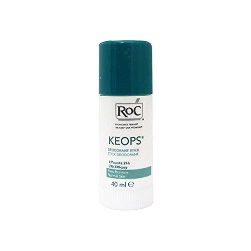 影響トランクライブラリ経由でRoc Keops Deodorant Stick Soft Sweating 40ml [並行輸入品]