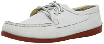 Suede Blucher 501: White