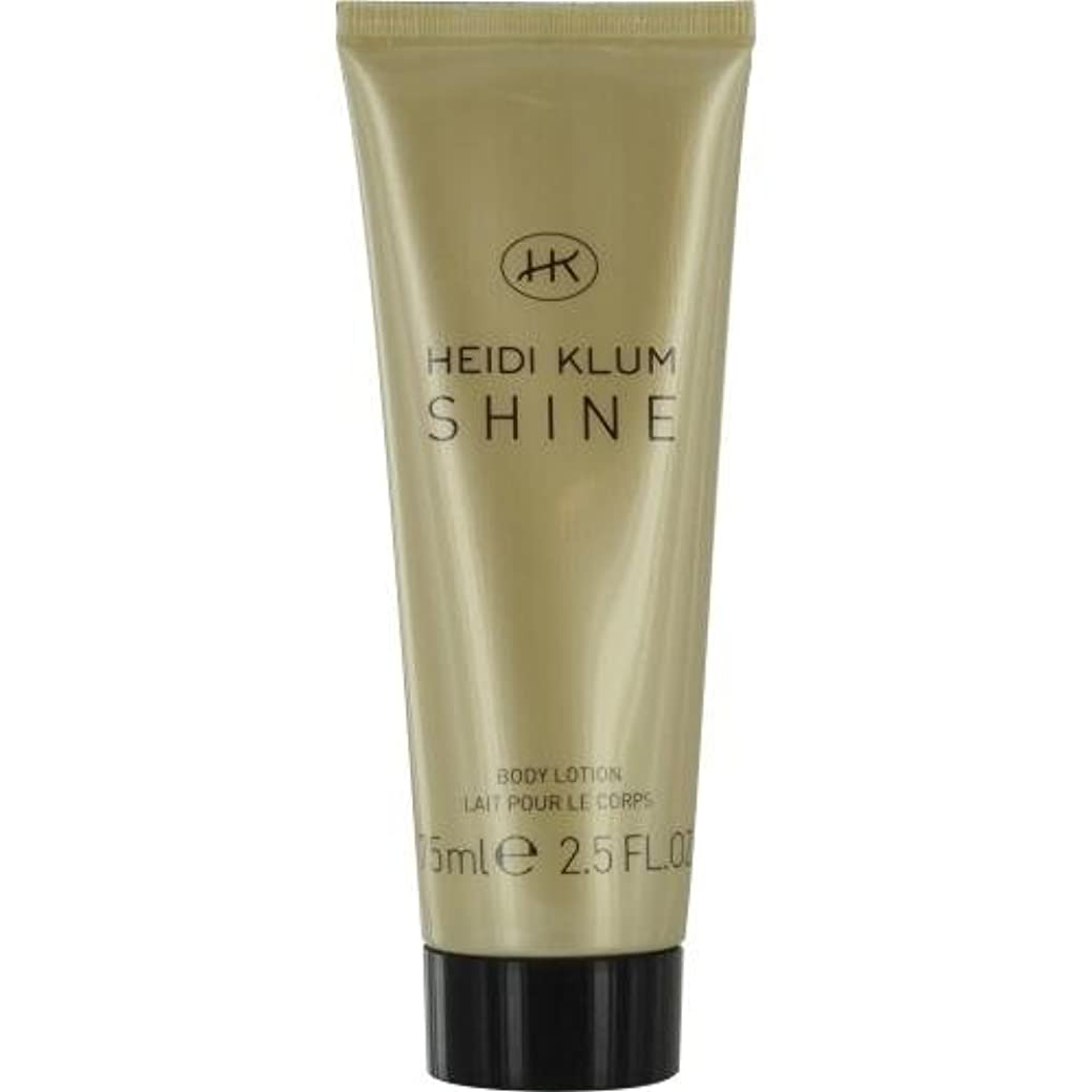 粘性の不平を言う頑丈HEIDI KLUM SHINE by Heidi Klum BODY LOTION 2.5 OZ for WOMEN by Heidi Klum