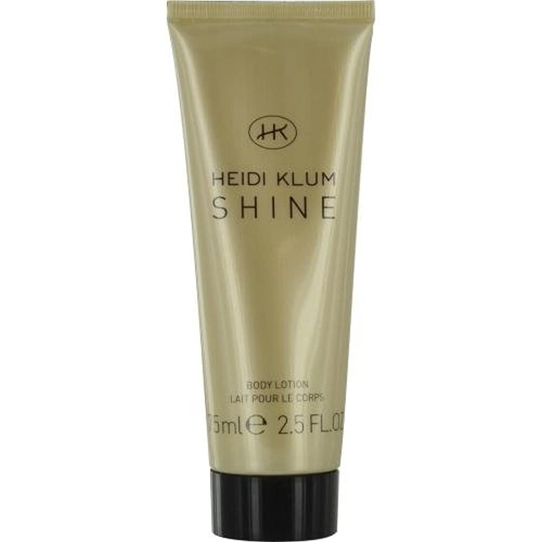 悲しいティームステップHEIDI KLUM SHINE by Heidi Klum BODY LOTION 2.5 OZ for WOMEN by Heidi Klum