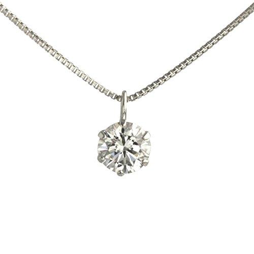 【 DIAMOND WORLD 】レディース ジュエリー PT900 ダイヤモンド ペンダントネックレス 0.3ct F・Gカラー SIクラス Goodカット