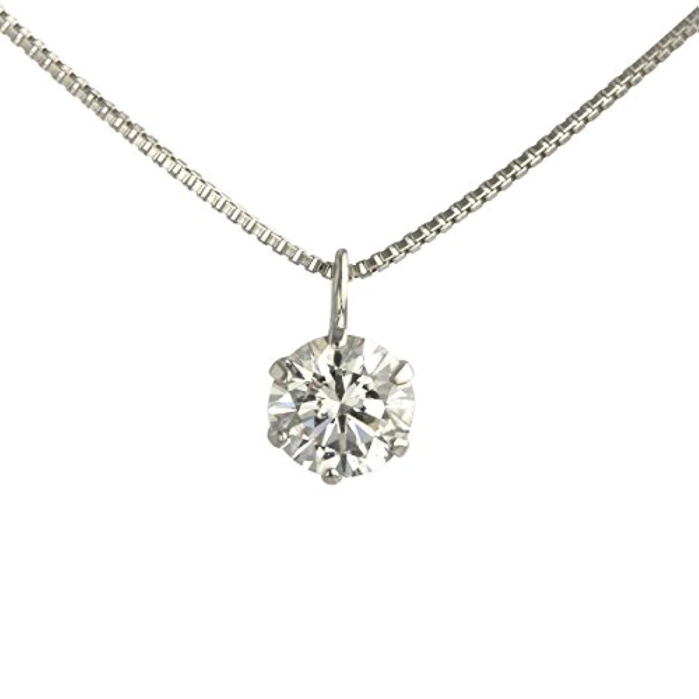 【 DIAMOND WORLD 】レディース ジュエリー PT900 ダイヤモンド ペンダントネックレス 0.3ct F?Gカラー SIクラス Goodカット
