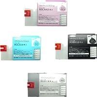 IC24 (LC/LM/GY/BK)カラー4色セット リサイクルインク EPSON マックスアート 大判インクジェットプリンター MAXART用