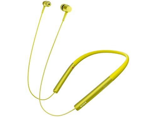 ソニー SONY ワイヤレスイヤホン h.ear in Wireless MDR-EX750BT : ハイレゾ/Bluetooth対応 リモコン・マイク付き ライムイエロー MDR-EX750BT Y