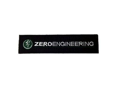 ゼロエンジニアリング(ZERO ENGINEERING) ロゴワッペン スクエア Sサイズ 110mmx25mm ZWP-SQ-S